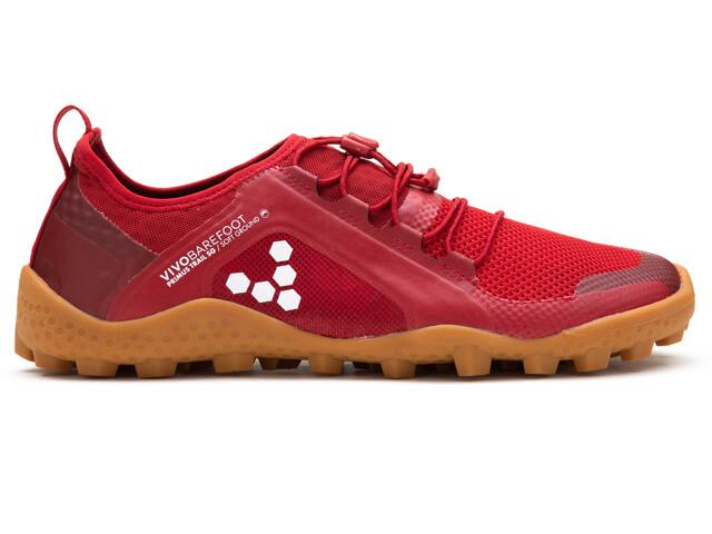Vivobarefoot Primus Trail SG Mesh Hardloopschoenen Dames rood